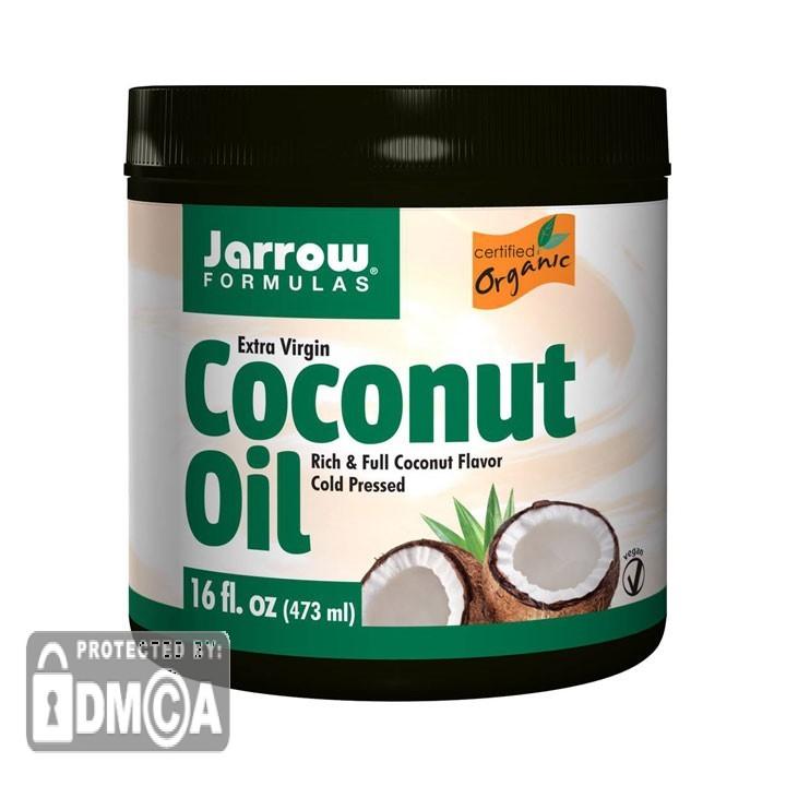 Jarrow Formulas Coconut Oil Extra Virgin Organic (473ml)