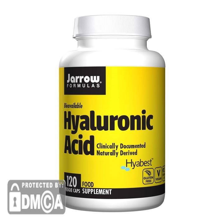 Jarrow Formulas Hyaluronic Acid (120 Vegetarian Capsules)