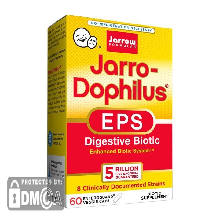 Jarrow Formulas Jarro-Dophilus EPS (60 Vegetarian Capsules)