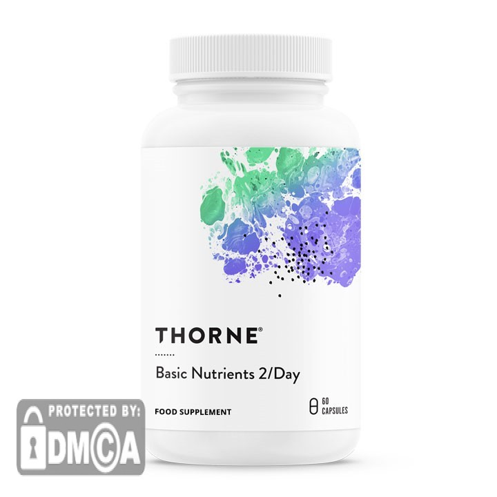 Thorne Basic Nutrients 2/DAY (60 Vegetarian Capsules)