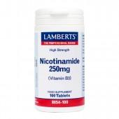 Lamberts® Nicotinamide 250mg (100 Tablets)