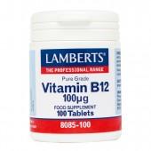 Lamberts® Vitamin B12 100µg (100 Tablets)