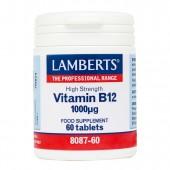 Lamberts® Vitamin B12 1000µg (60 Tablets)