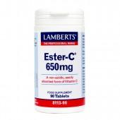 Lamberts ® Ester-C 650mg (90 Tablets)