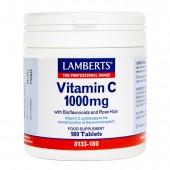 Lamberts® Vitamin C + Bioflavonoids 1000mg (180 Tablets)