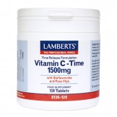 Lamberts® Time Release Vitamin C 1500mg (120 Tablets)