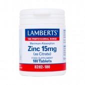 Lamberts® Zinc 15mg (180 Tablets)