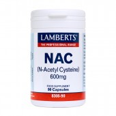 Lamberts® N-Acetyl Cysteine (NAC) 600mg (90 Capsules)