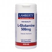 Lamberts® L-Glutamine 500mg (90 Capsules)
