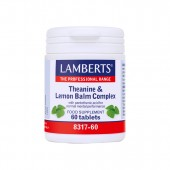 Lamberts® Theanine & Lemon Balm Complex (60 Tablets)