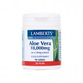 Lamberts® Aloe Vera 10,000mg (90 Tablets)