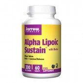 Jarrow Formulas Alpha Lipoic Sustain 300mg-60 Tablets