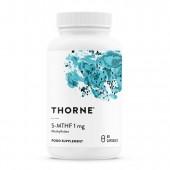 Thorne 5-MTHF 1mg (60 Vegetarian Capsules