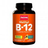Jarrow Formulas Methyl B12 2500mcg Tropical (100 Lozenges)