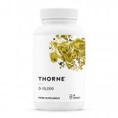 Thorne Vitamin D-10,000 (60 Vegetarian Capsules)