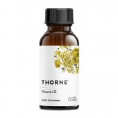 Thorne Vitamin D Liquid (30ml) (Supplement Simple)