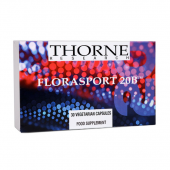 Thorne Research FloraSport 20B (30 Vegetarian Capsules) (