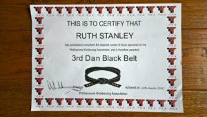 ruth certificate